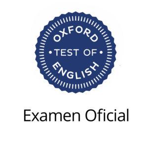 Examen oficial Oxford English
